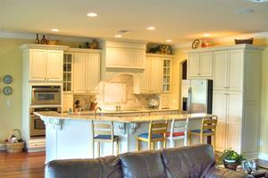 La restauration des armoires de cuisine endommagés
