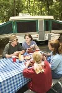 Comment faire pour nettoyer les réservoirs d'eau douce en pop-up campeurs