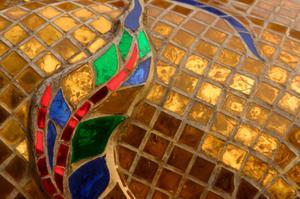 Thinset appropriée pour les carreaux de mosaïque de verre sur le dosseret