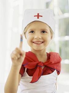 Comment chapeau une infirmière d'artisanat pour les enfants