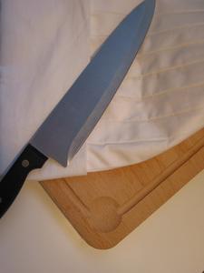 Comment faire un faux couteau de boucher - Comment bien aiguiser un couteau ...