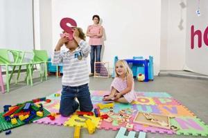 Jardin d'enfants étudiant cadeaux