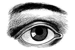 Façon simple de dessiner un oeil