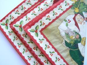 Artisanat en papier serviette