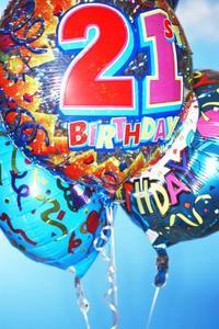 21e anniversaire fête idées sac cadeau