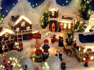 Comment trouver des pièces pour un Village de Noël