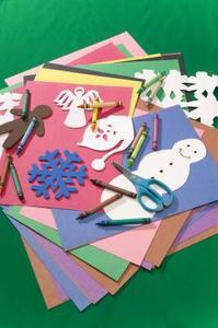 Fabrication de carte des idées pour une petite fille