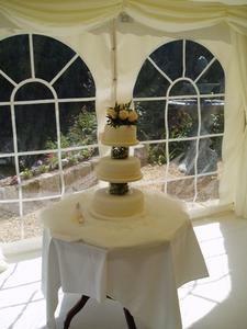 Idées de gâteau de mariage anniversaire