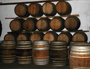 Tonneau de vin bricolage