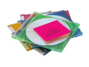 Comment insérer une étiquette fait maison pour un étui de CD de plastique mince