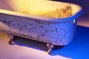Guillage cuve cracher la mousse - Peindre baignoire fonte ...