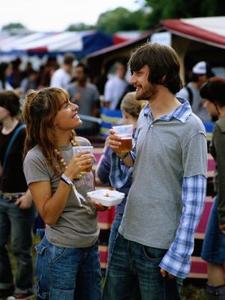 Aliments à grignoter vendus aux festivals d'été