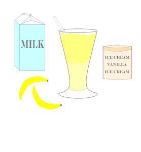 combien de calories est dans un milk shake banane. Black Bedroom Furniture Sets. Home Design Ideas