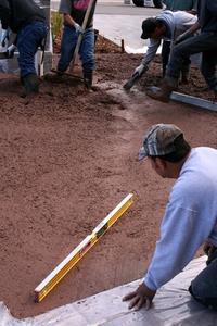 Béton : ratio de sable & gravier