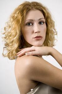 Permanentés coiffures moyennes