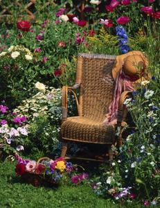 Comment peindre des meubles en osier résine