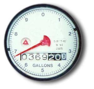 Comment lire un compteur d'eau à domicile