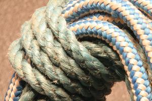 Exercices de gym corde