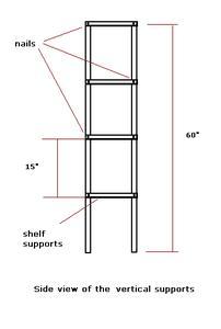 comment construire des tag res de bois dans votre garage. Black Bedroom Furniture Sets. Home Design Ideas