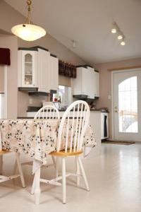 Idées de décoration pour une cuisine avec granit perle bleu