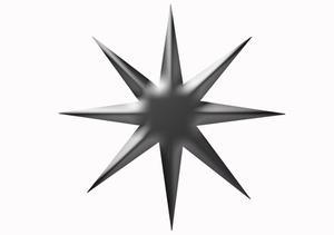 Comment faire une étoile Ninja octogonal