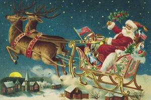 Idées de décoration de Noël rétro