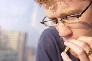 Signes que quelqu'un fume cigarettes