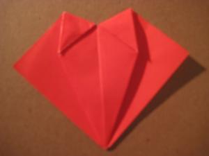 comment faire un origami coeur de papier. Black Bedroom Furniture Sets. Home Design Ideas