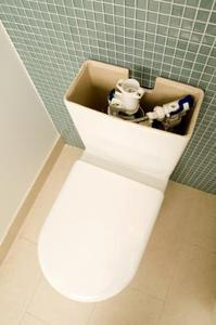 Mon WC à l'étage descend lentement