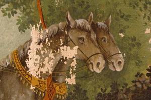 Comment peindre des chevaux avec de l'acrylique peint
