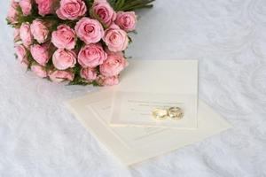 Impression de papeterie & Styles de Script pour les Invitations de mariage
